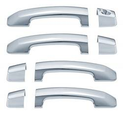 Door Trim - Door Handle Cover - Brite Chrome - Brite Chrome 15406K Door Handle Cover