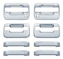 Door Trim - Door Handle Cover - Brite Chrome - Brite Chrome 11106 Door Handle Cover