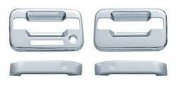 Door Trim - Door Handle Cover - Brite Chrome - Brite Chrome 11105K Door Handle Cover