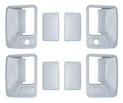 Door Trim - Door Handle Cover - Brite Chrome - Brite Chrome 11206 Door Handle Cover