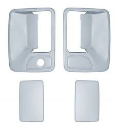 Door Trim - Door Handle Cover - Brite Chrome - Brite Chrome 11205K Door Handle Cover