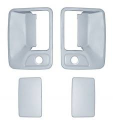 Door Trim - Door Handle Cover - Brite Chrome - Brite Chrome 11205 Door Handle Cover