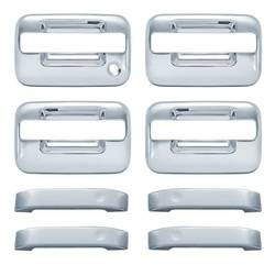 Door Trim - Door Handle Cover - Brite Chrome - Brite Chrome 11106NK Door Handle Cover