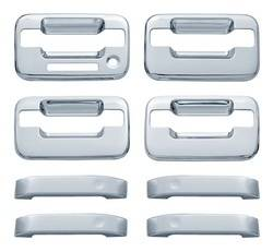 Door Trim - Door Handle Cover - Brite Chrome - Brite Chrome 11106K Door Handle Cover