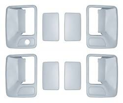 Door Trim - Door Handle Cover - Brite Chrome - Brite Chrome 11206K Door Handle Cover