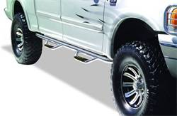 Exterior Accessories - Side Steps and Nerf Bars - Go Rhino - Go Rhino D24205PS Dominator D2 SideSteps