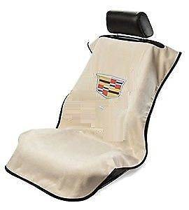 Seat Armour - Seat Armour - Seat Armour Cadillac Tan Towel Seat Cover