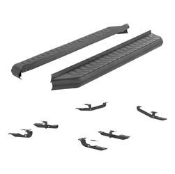 Running Board - Running Board Mount Kit - Aries Automotive - Aries Automotive 2061007 AeroTread Running Boards/Mounting Brackets