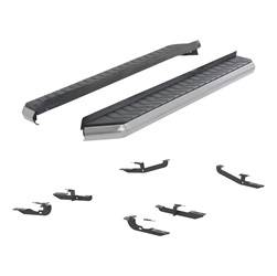 Running Board - Running Board Mount Kit - Aries Automotive - Aries Automotive 2051007 AeroTread Running Boards/Mounting Brackets