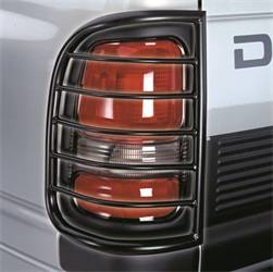 Exterior Lighting - Tail Light Guard - Westin - Westin 39-3265 Sportsman Tail Light Guard Black