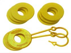 Trailer Hitch Accessories - D-Ring Isolator - Daystar - Daystar KU70059YL D-Ring Lockers And Shackle Isolators