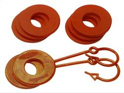Trailer Hitch Accessories - D-Ring Isolator - Daystar - Daystar KU70059AG D-Ring Lockers And Shackle Isolators