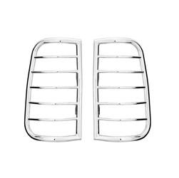 Exterior Lighting - Tail Light Guard - Westin - Westin 39-3370 Sportsman Tail Light Guard Chrome