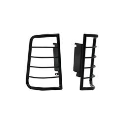 Exterior Lighting - Tail Light Guard - Westin - Westin 39-3375 Sportsman Tail Light Guard Black