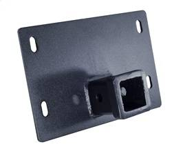 Mounting Kit - Winch Mount Plate - ICI (Innovative Creations) - ICI (Innovative Creations) BMAC002 Forward Mount Winch Receiver Adapter Plate