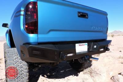 Misc Parts - Lund Parts - Misc. ADD Honey Badger Winch Bumper Combo 14-19 Tundra  (rear backup sensor compatible only, not compatible with front sensors, lane departure, or bsm) (no winch, lights , etc included)
