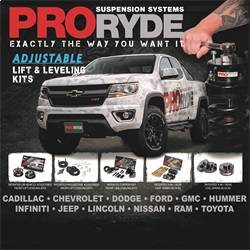 Specialty Merchandise - Tools and Equipment - ProRYDE Suspension Systems - ProRYDE Suspension Systems 54-CM2012 Counter Mat