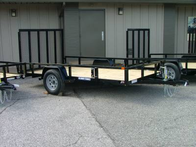 Trailers - Sure-Trac Trailers - 2020 Sure-Trac 7x12 Tube Top Utility Trailer 3K