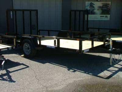 Trailers - Sure-Trac Trailers - 2020 Sure-Trac 6x12 Tube Top Utility Trailer 3K