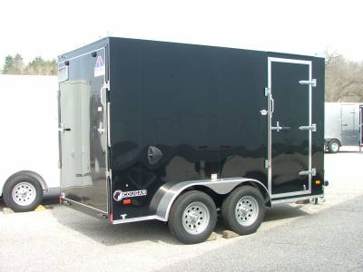 Trailers - Haul-About Trailers - 2020 Haul-About 6x12 Cougar Cargo Trailer 7K