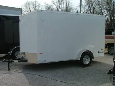 Trailers - Haul-About Trailers - 2020 Haul-About 6x12 Cougar Cargo Trailer 3.5K