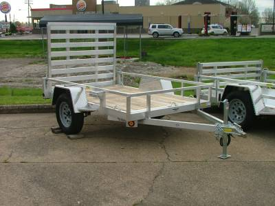 Trailers - Quality Steel & Aluminum  - 2020 Quality Steel & Aluminum 62x8 Simplicity Aluminum Utility Trailer 3.5K