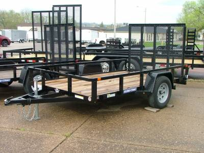 Trailers - Sure-Trac Trailers - 2020 Sure-Trac 6x10 Tube Top Utility Trailer 3K