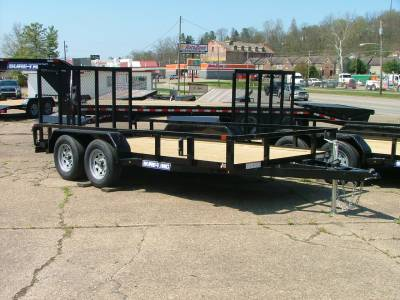 Trailers - Sure-Trac Trailers - 2020 Sure-Trac 7x14 Tube Top Utility Trailer 7K