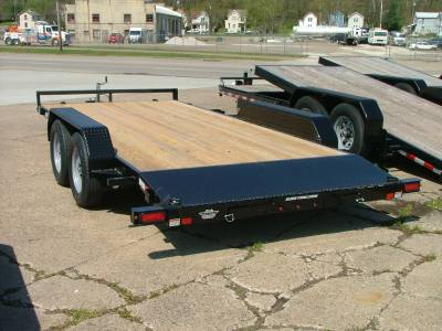 Trailers - Sure-Trac Trailers - 2020 Sure-Trac 7x16 C-Channel Car Hauler 7K