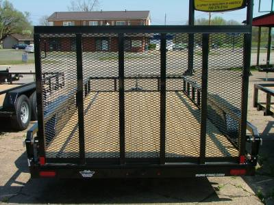 Trailers - Sure-Trac Trailers - 2020 Sure-Trac 7x16 Tube Top Utility Trailer 7K