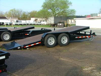 Trailers - Sure-Trac Trailers - 2020 Sure-Trac 7x18 Tilt Bed Equipment Trailer 14K