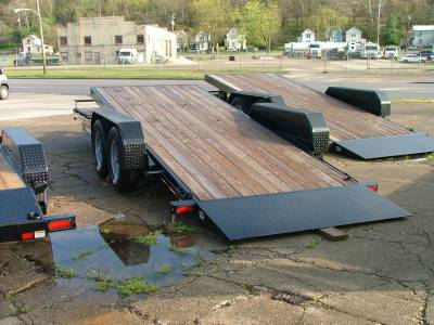 Trailers - Sure-Trac Trailers - 2020 Sure-Trac 7x18+4 Tilt Bed Equipment Trailer 14K
