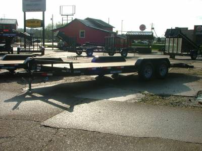 Trailers - Sure-Trac Trailers - 2020 Sure-Trac 7x20 C-Channel Car Hauler 10K