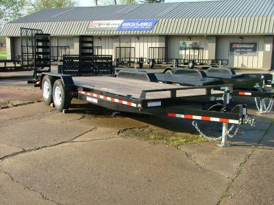Trailers - Sure-Trac Trailers - 2020 Sure-Trac 7x20 Implement Trailer 14K