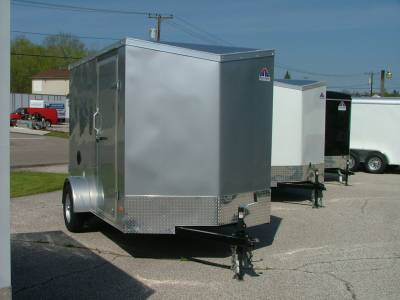 Trailers - Haul-About Trailers - 2020 Haul-About 6x10 Cougar Cargo Trailer 3.5K