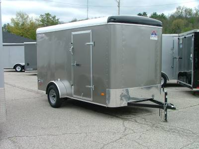 Trailers - Haul-About Trailers - 2020 Haul-About 6x12 Lynx Cargo Trailer 3.5K