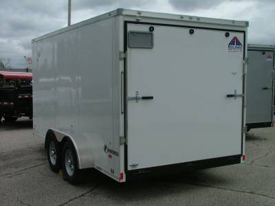 Trailers - Haul-About Trailers - 2020 Haul-About 7x14 Cougar Cargo Trailer 7K