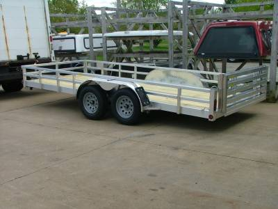 Trailers - Quality Steel & Aluminum  - 2020 Quality Steel & Aluminum 80x16 Deluxe Aluminum Utility Trailer 7K