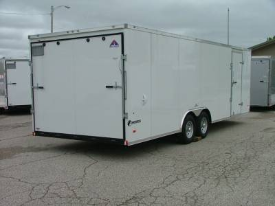 Trailers - Haul-About Trailers - 2020 Haul-About 8.5x24 Cougar Cargo Trailer 10K