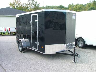 Trailers - Haul-About Trailers - 2021 Haul-About 6x12 Bobcat Cargo Trailer 3.5K