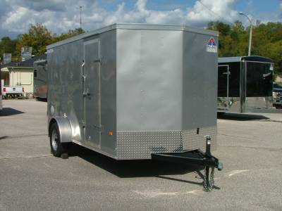 Trailers - Haul-About Trailers - 2020 Haul-About 6x12 Bobcat Cargo Trailer 3.5K