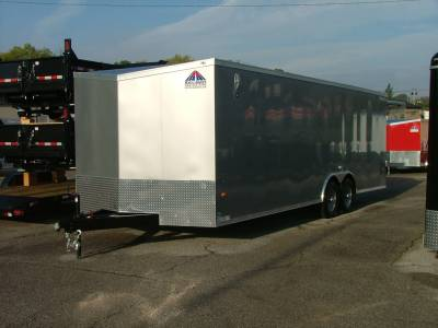 Trailers - Haul-About Trailers - 2021 Haul-About 8.5x24 Cougar Cargo Trailer 10K