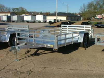 Trailers - Quality Steel & Aluminum  - 2021 Quality Steel & Aluminum 80x12 Deluxe Aluminum Utility Trailer 3.5K