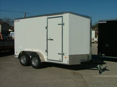 Trailers - Haul-About Trailers - 2021 Haul-About 6x12 Cougar Cargo Trailer 7K