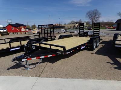 Trailers - Sure-Trac Trailers - 2021 Sure-Trac 7x18 Equipment Trailer 10K
