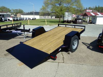Trailers - Sure-Trac Trailers - 2021 Sure-Trac 6.5x12 Single Axle Tilt Bed Equipment Trailer 7.8K