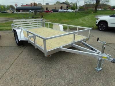 Trailers - Quality Steel & Aluminum  - 2022 Quality Steel & Aluminum 80x12 Deluxe Aluminum Utility Trailer 3.5K
