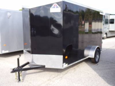 Trailers - Haul-About Trailers - 2021 Haul-About 6x12 Cougar Cargo Trailer 3.5K