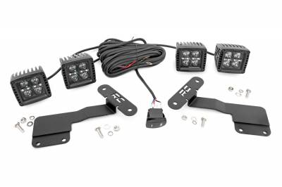 Exterior Lighting - Exterior LED Kit - Rough Country - Rough Country 70854 LED Lower Windshield Ditch Kit