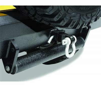 Trailer Hitch Accessories - D-Ring Ball Mount - Bestop - Bestop 42922-01 HighRock 4x4 Receiver Recovery Hitch